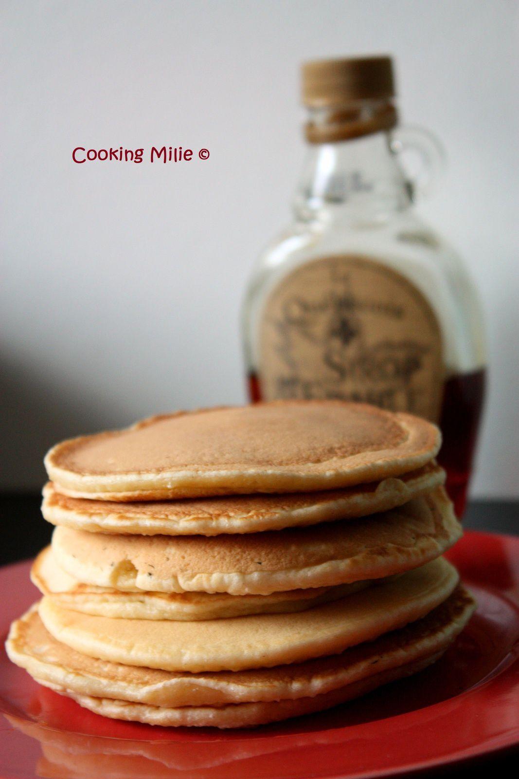 Pancakes à la fleur d'oranger