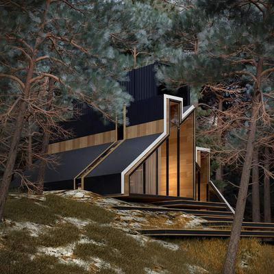 DISCOVER THE YORK HOUSE BY ALEX NEROVNYA ARCHITECTURE, FROM RUSSIA
