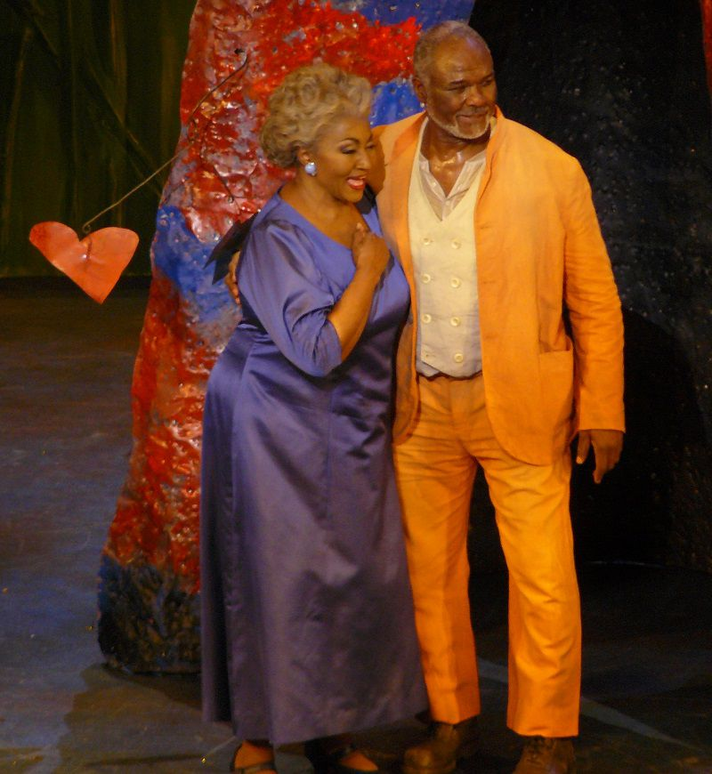 Grace Bumbry (Monisha) et Willard White (Ned)