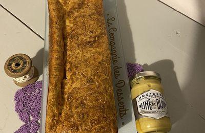 Cake jambon et moutarde reine de dijon