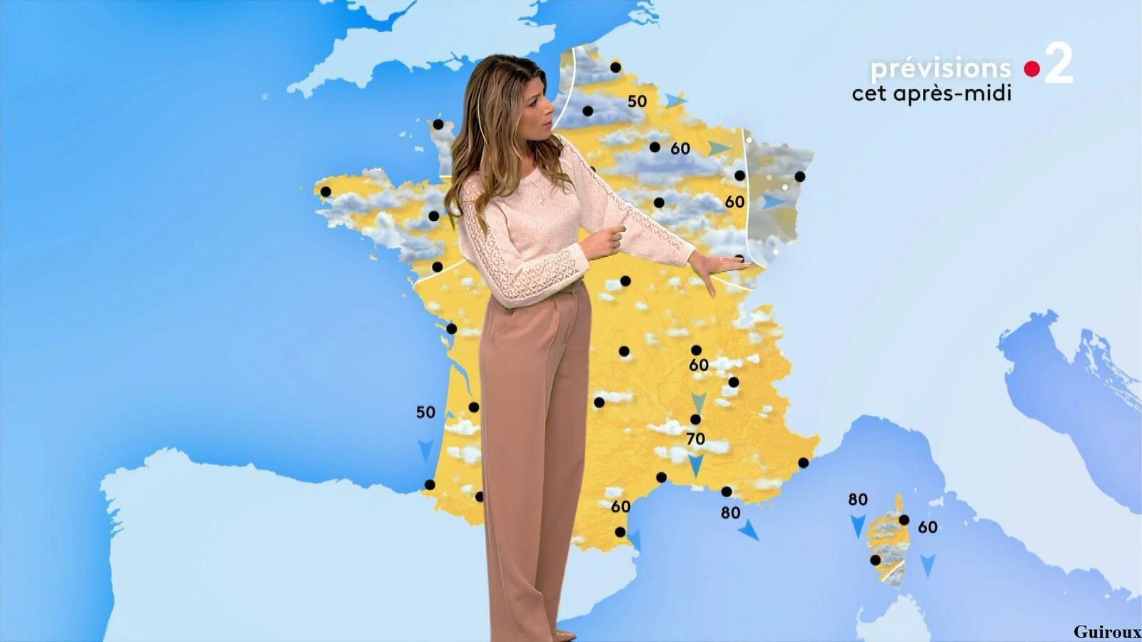 Chloé Nabédian 07/04/2021 Journaux météo du midi