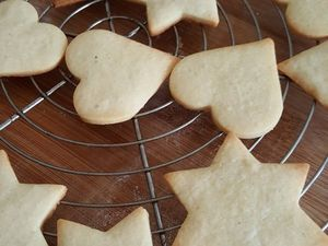 Shortbread biscuits de Noël