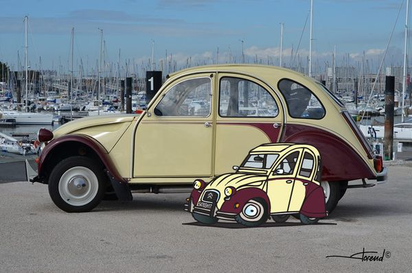 2cv Cartoon 1…