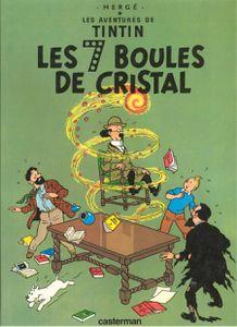 Les bonnes lectures d'Oncle Fumetti…Les 7 boules de cristal de Hergé chez Casterman