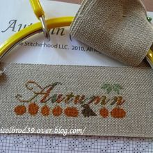Broderie d'automne,