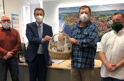 Bürgermeister verabschiedete Bauhof-Vorarbeiter Robert Blass in den Vorruhestand