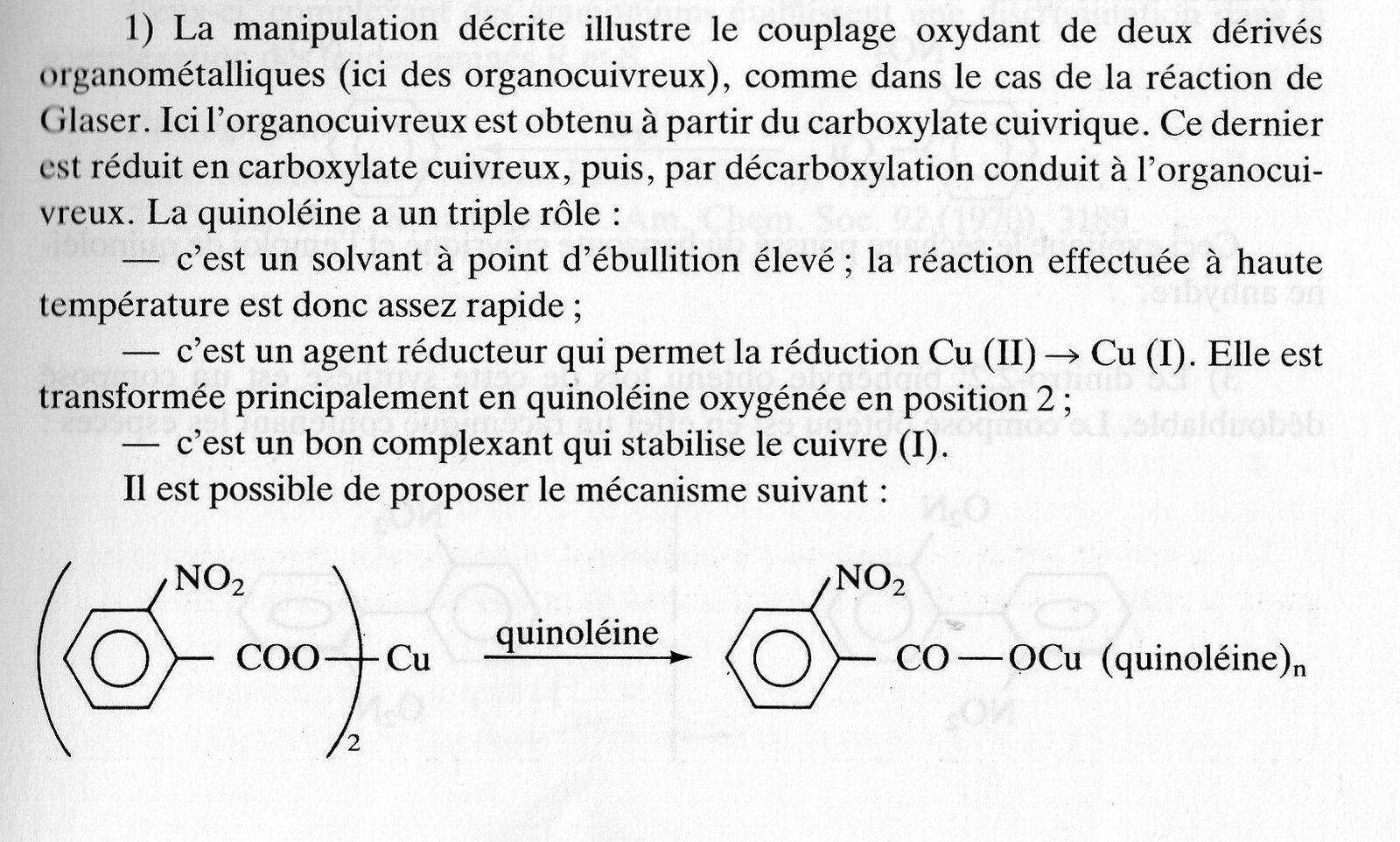 218 - synthèse du 2,2'-dinitrobiphényle (méthode de Schambach)