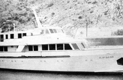Crimea et Caucasus, les yachts de Brejnev