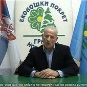 Le représentant du mouvement écologique Serbe dénonce les CHEMTRAILS - MOINS de BIENS PLUS de LIENS