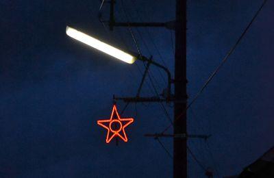 Une étoile en hiver
