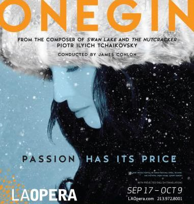 Eugen Onegin at the Los Angeles opera :)