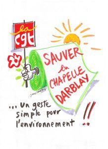 """""""Notre projet de reprise industrielle toujours d'actualité"""" dit la CGT-Chapelle-Darblay"""
