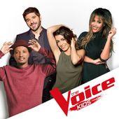Amel Bent et Soprano nouveaux coachs de The Voice Kids, avec Jenifer et Patrick Fiori. - Leblogtvnews.com