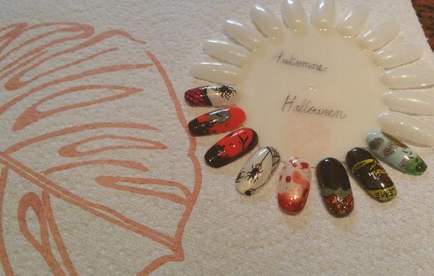 "Nail Art ""Spécial Halloween"""