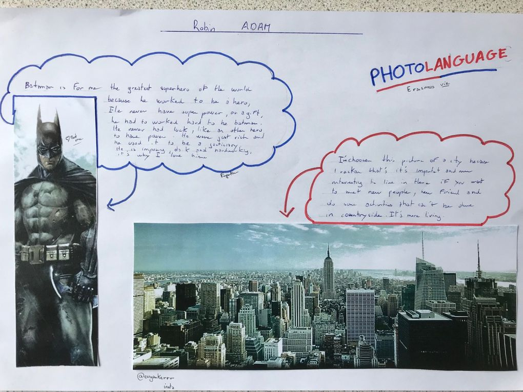 Communication Photolanguage at the french Lycee