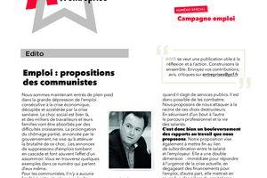 AGIR le journal des communistes à l'entreprise - octobre 2020