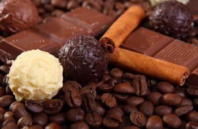Gourmandise - Nourriture - Chocolat - Truffes - Café - Canelle - Wallpaper - Free