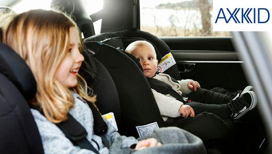 Siège auto dos à la route Axkid minikid et Minikid 2.0