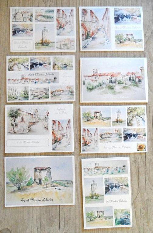 Saint Martin Lalande - 11 - aquarelles
