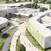 Villefranche-sur-Saône : voilà à quoi ressemblera l'hôpital Nord-Ouest en 2020