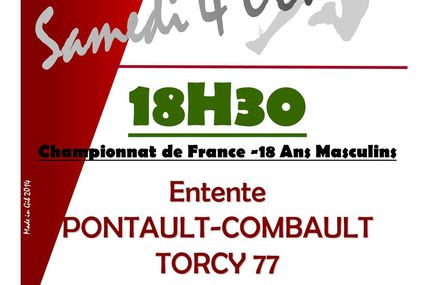 ENTENTE PCT 77 vs MASSY/SAVIGNY (CdF -18M) 04.10.2014
