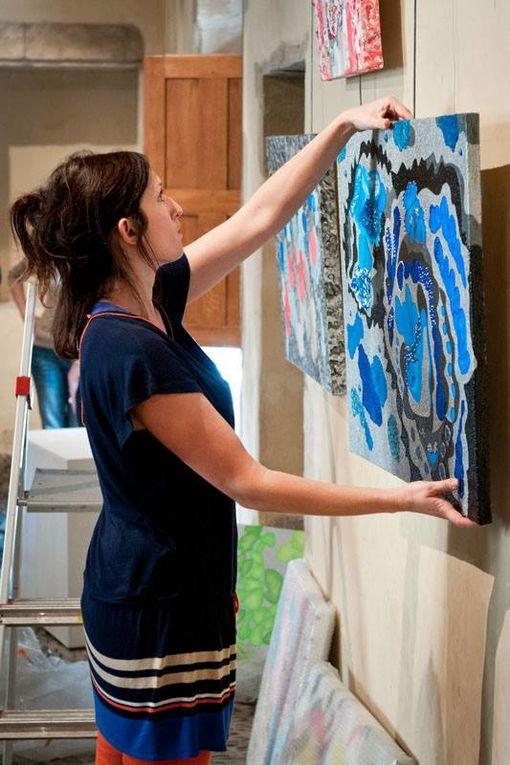 10 nouveaux talents découverts à Festiv'Arts exposent à la maison carrée jusqu'au 16 juin 2013.