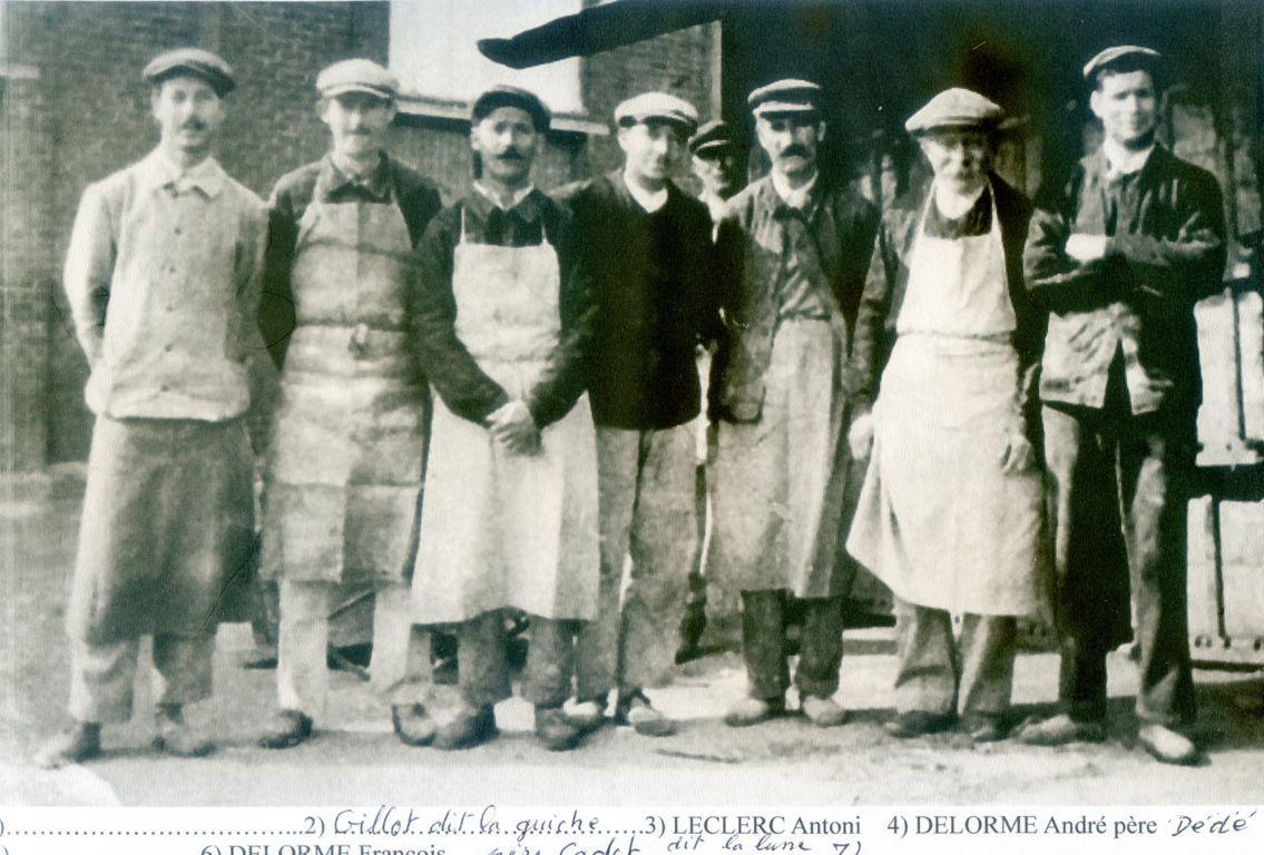 Album - groupe Saint-Gobain, la verrerie de Vauxrot ( Aisne), diverses photos