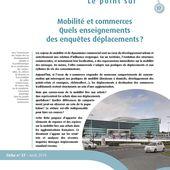 Mobilités et transports : le point sur - série de fiches