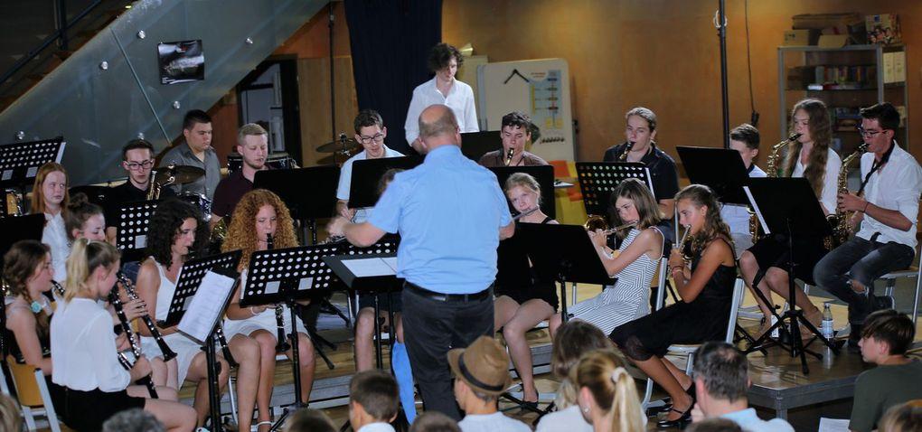 Beeindruckendes Konzert von Blas- und Streichorchester des Gymnasiums Veitshöchheim
