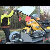 Baxley SB001 Motorcycle Trailer Review
