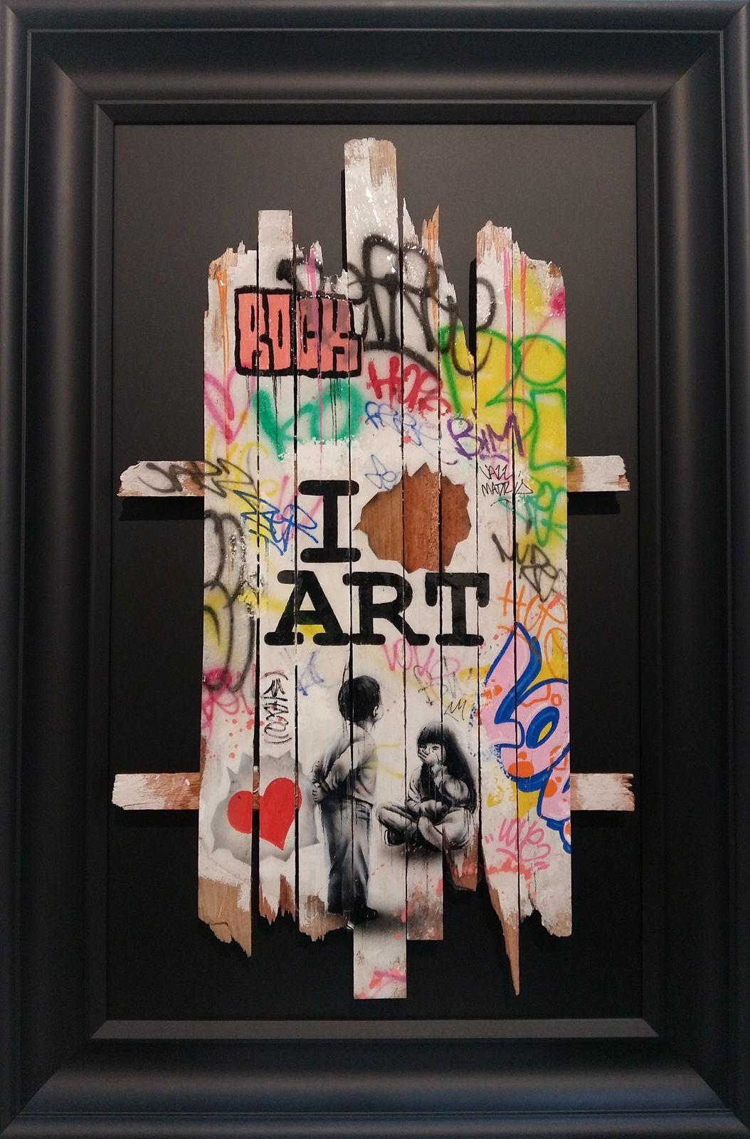 Onemizer I love art galerie artfontainebleau