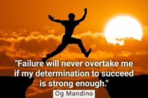Determination and the Drive to succeed