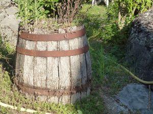 Tonneaux, banastes (ou comportes), rouleau pour le dépiquage des céréales et même un traîneau pour l'hiver...