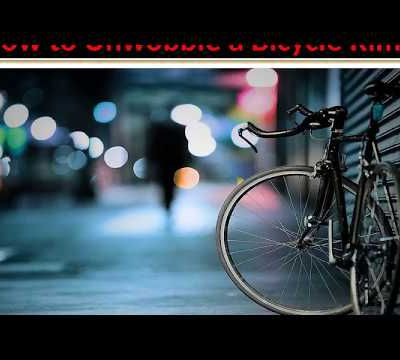How to Unwobble a Bicycle Rim