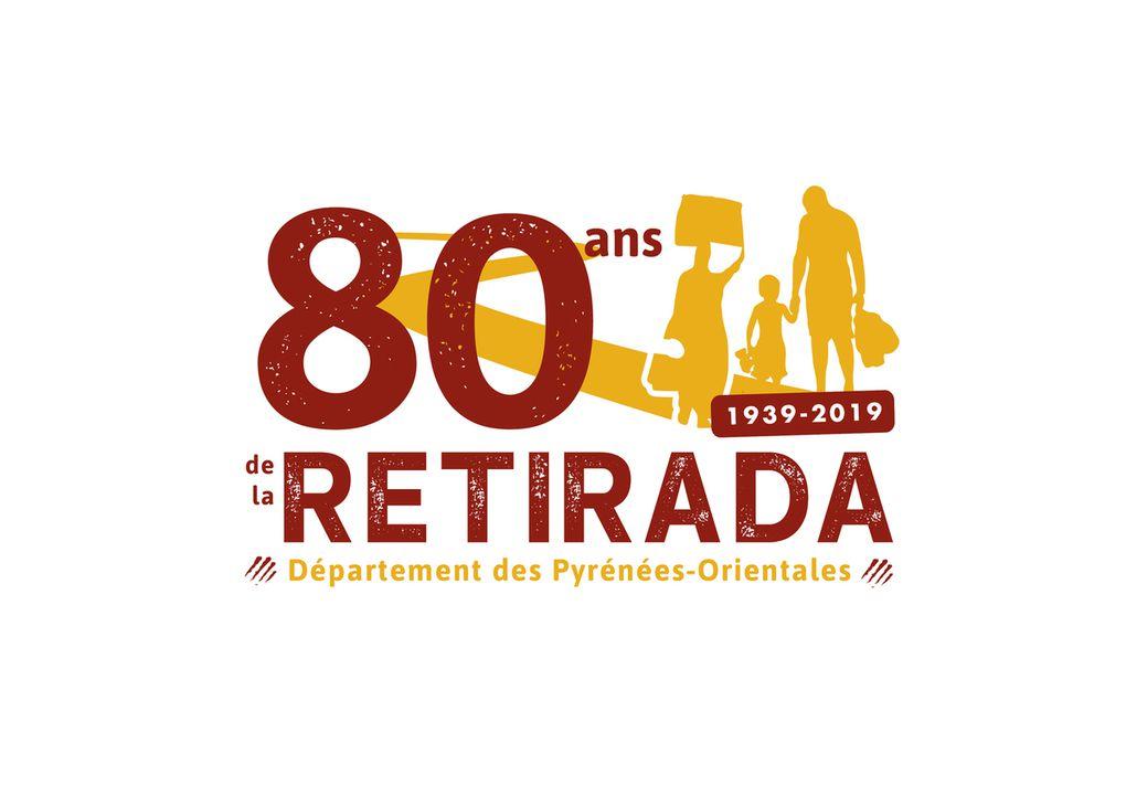 80 ans de la Retirada, ou exode, exil  février 2019 - Fête de l'orange à Saint-Mathieu, Perpignan -
