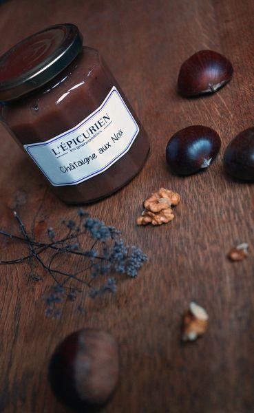 Brioche selon C. Felder à la châtaigne aux noix {et concours L'Epicurien (clos)}