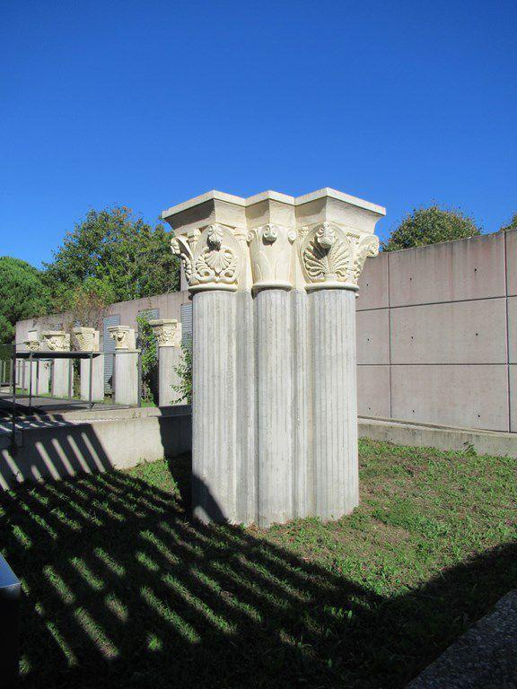 Le jardin de sculpture romane de Lozay (17) . 23 septembre 2021.