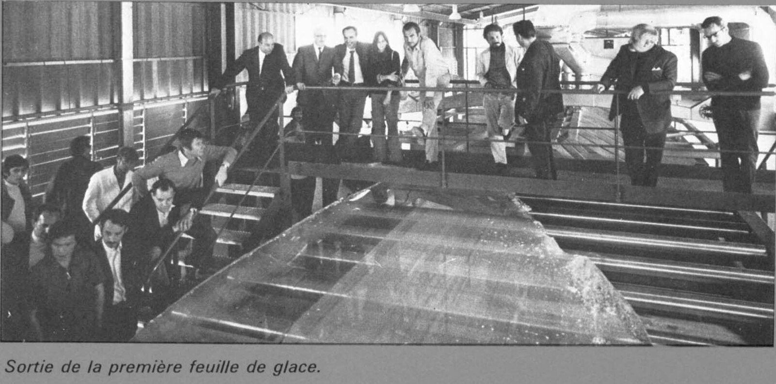 Album - Chantereine, le Float-Glass, son inauguration