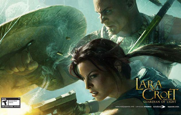 Lara Croft & the Guardian of light ma très bonne surprise du PSN