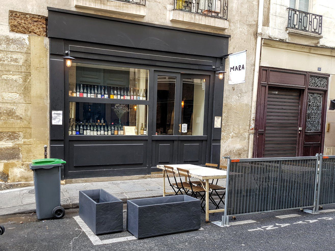 Mara restaurant Paris 3 rue Saintonge