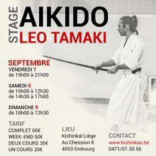 Léo Tamaki à Liège, 7 au 9 septembre