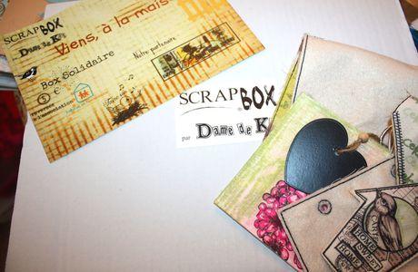 Retour à Version scrap : la Scrapbox solidaire