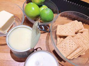 Tarte au citron vert sans cuisson