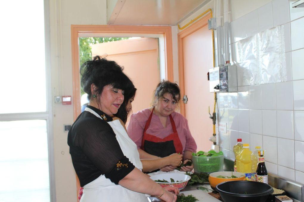 Album - 4ème cours de cuisine : 25 juin 2011