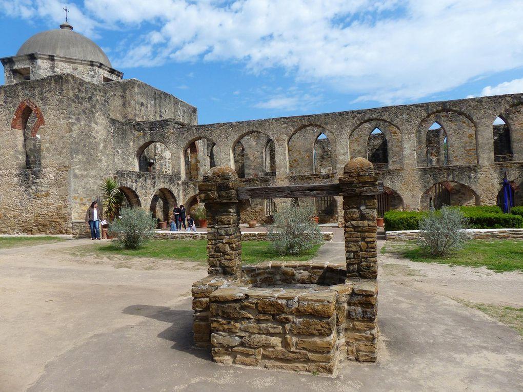 Del Rio, Kerrville, Castroville, Missions San Antonio, Choke Canion State Park