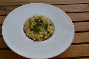 RISOTTO CHAMPIGNONS ( 2 pers ) 16 spts