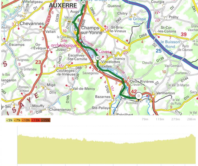 Le Tour de Bourgogne - Etape 10 - Accolay/Germigny - 74,6 km
