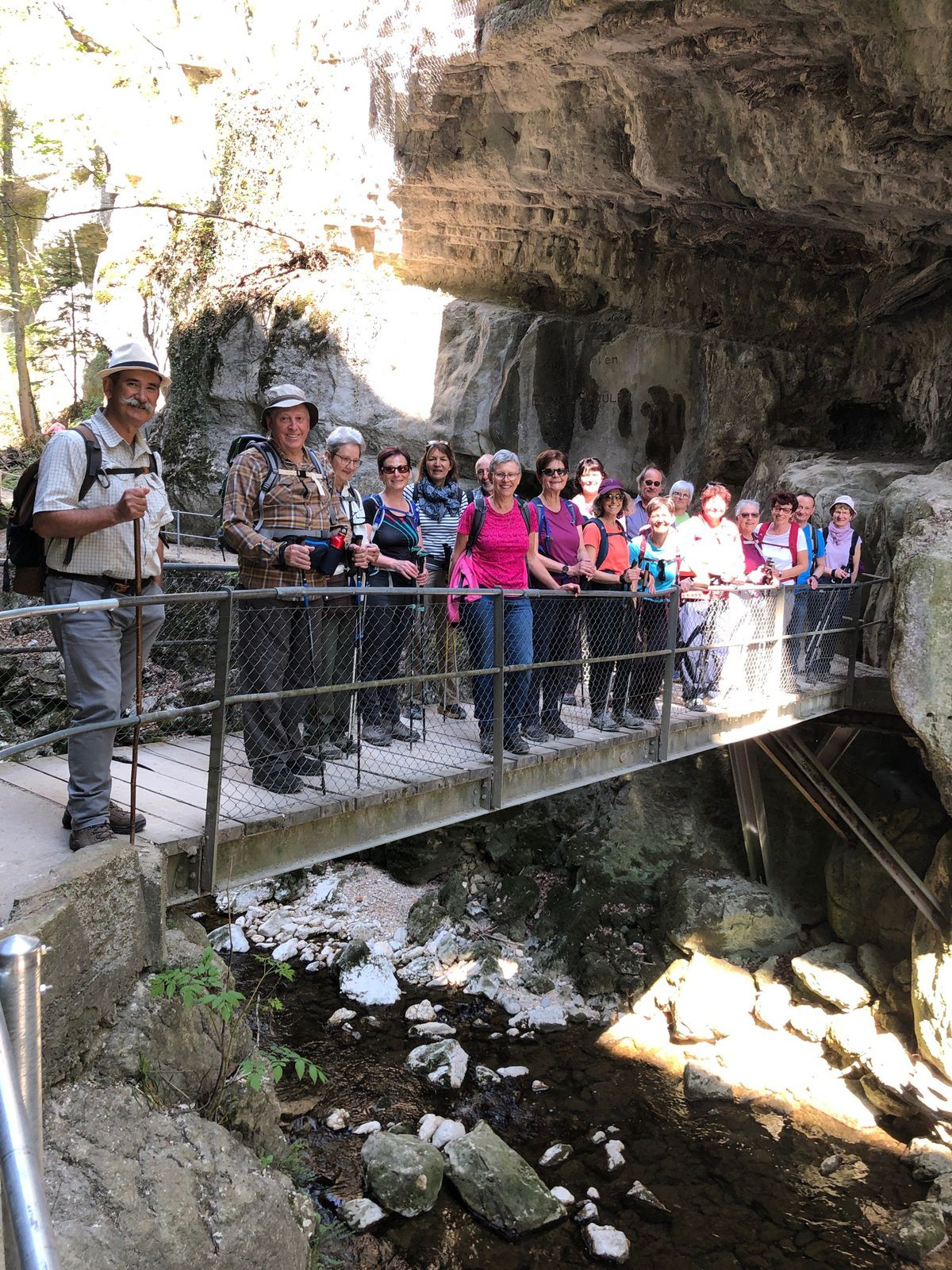 Mardi 27 Avril : Les Gorges de Taubenloch
