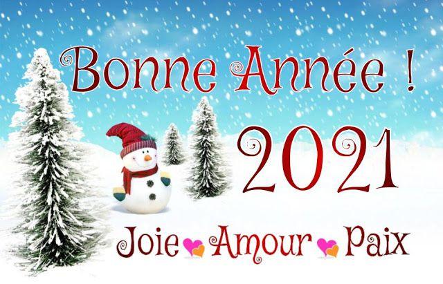 Une belle année 2021 !
