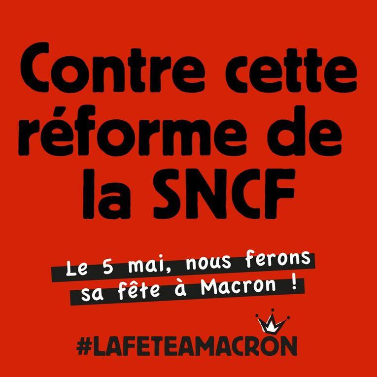 """Le 5 Mai, """" faire sa fête à Macron """" par ceux qui restent à la Rochelle"""
